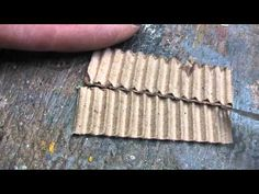 Miniature Roofing Iron - YouTube