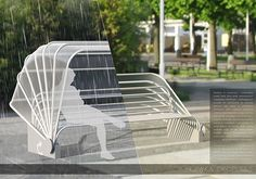"""Bench """"Dropless"""" on Behance"""