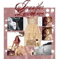 Jennifer Lawrence, created by croquette on Polyvore
