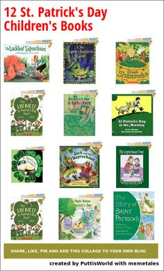 12 Children's books for St. Patrick's Day