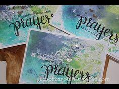 "STAMPtember Simon Says Stamp + Hero Arts ""Prayers"" - YouTube"