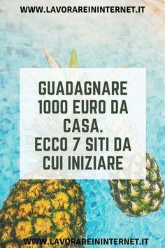 1000 Euro Al Mese Lavorando Da Casa: Ecco La Guida Savings Planner, Budget Planner, How To Start A Blog, How To Make Money, Web Business, Online Income, Skin Care Treatments, Financial Tips, Blogger Tips
