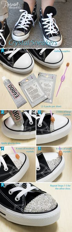 #Swarovski #bling #shoes #fashion #rhinestone