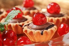 chocolate ganache mini tarts