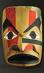 Native American Mask - Nootka people from Vancouver Island