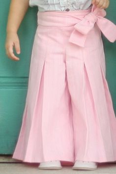Whitney Trousers & Skirt Pattern by VFT – Violette Field Threads Frock Patterns, Baby Girl Dress Patterns, Baby Dress Design, Baby Dress Tutorials, Baby Girl Frocks, Frocks For Girls, Little Girl Dresses, Girls Dresses Sewing, Baby Dresses