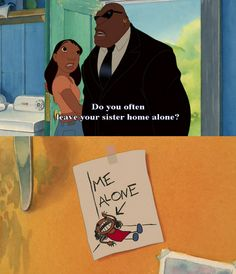 Lilo and Stich! Disney Pixar, Disney Memes, Disney Quotes, Disney And Dreamworks, Disney Animation, Funny Disney, Disney Fails, Lilo And Stitch 3, Lilo And Stitch Quotes
