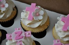 Rene Takes the Cake: Christening Cupcakes for a Little Girl