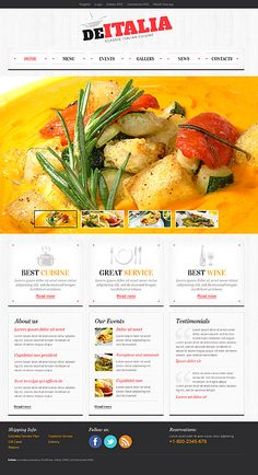 De Italia WordPress Themes by Mercury