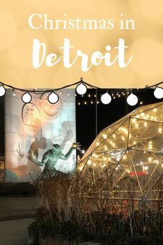 Check out the Christmas festivities at Campus Martius Park and see why you should plan a weekend holiday getaway to the Motor City! Best Christmas Markets, Christmas Travel, Holiday Travel, Local Festivals, Festivals Around The World, Visit Usa, Travel Usa, Globe Travel, Canada Travel