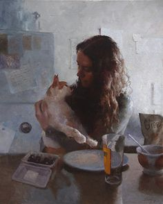 Brunch by Doohong Min was selected as a Finalist in the April 2014 BoldBrush Painting Competition.