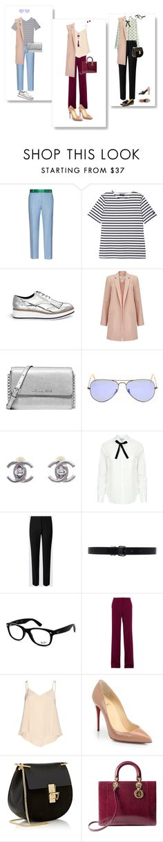 The story of a vest... by tuavrn on Polyvore featuring мода, Comme des Garçons, Alice + Olivia, Miss Selfridge, STELLA McCARTNEY, Racil, Christian Louboutin, Pedder Red, Christian Dior and Chloé