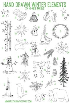 Emily and I have added another Fabulous Bundle to our site The Graphics Fairy Premium Membership!! This week's Bundle is an Adorable Hand Drawn Winter Elements Kit !  This Bundle includes: 27 high resolution images (.png) 27 high resolution vectors (.ai, .eps, .svg) 1 set of Photoshop brushes (.abr) 6 printables (2 sets of...Read More »