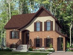 Small multigenerational Tudor style home with full grandparents' apartment, unfinished basement, plus a 3-bedroom family home.