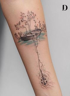 creative watercolor tattoo ©️️️️️️️ tattoo artist Deborah Genchi Regardless of what tattoo style you're looking for, Deborah Genchi will have you covered. You'll fall in love with her incredibly versatile tattoos. Time Tattoos, Body Art Tattoos, New Tattoos, Tatoos, Future Tattoos, Female Arm Tattoos, Woman Body Tattoo, Arm Tattoos Forearm, Family Tattoos