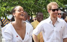 'You guys look stunning together': Rihanna and Harry have been spotted together at a serie...