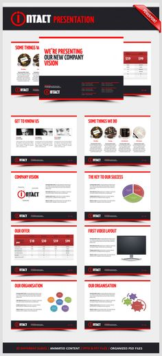 Green Ad Agency Power Point Template Fonts, Shape and Power - professional power point template