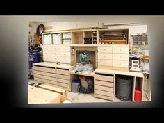 Miter Saw Station Finished - YouTube