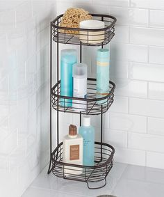 Another great find on #zulily! Forma Three-Tier Shower Shelf #zulilyfinds