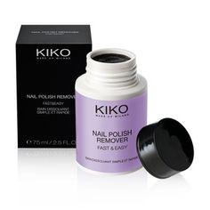 One of my friend showed me this item last week in Italy. Just amazing! I've never seen anything like this practical and good nail polish remover. Every woman who use nailpoish must try it!  KIKO MAKE UP MILANO - Nail Polish Remover Fast & Easy - dip nail polish remover