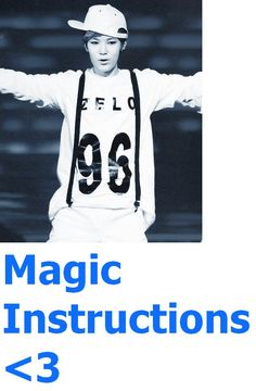 83 <3 Magic Instructions <3 Learn to understand it when u get magically proficient (dance is their favorite way of speaking and making evil magic that poisons the mind they do it thro body movement its sort of like a spell but they use their energy and gestures only they understand to condition your mind what to do how to react, and usually they ask thro dance that u give them your life,