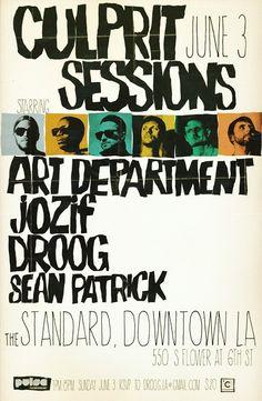 Culprit Sessions: Art Department, Jozif, Droog at Standard Hotel Rooftop