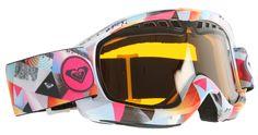 Roxy Broadway Art Snowboard Goggles Snowboard/Orange Lens - Women's