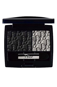 Limited-edition two-color eyeshadow includes silver and sparkling black shades to light up the eyes with a dramatic, shimmering effect.  Dior Smoky Mania Eyeshadow Duo nordstrom.com