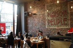 Maison du Peuple, one of my favorite hangouts in Brussels.