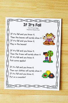 Preschool Circle Time Songs, Circle Time Activities, Halloween Songs Preschool, Halloween Songs For Preschoolers, Halloween Activities, Writing Activities For Preschoolers, Fall Preschool Activities, Kindergarten Fun, Class Activities