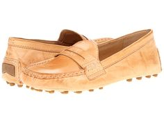 vintage+penny+loafers+for+women | Frye Rebecca Penny loafers Beige Soft Vintage Leather