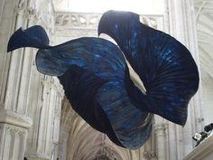 Delicate Paper Sculptures Suspended in Mid Air by Peter Gentenaar sculpture paper Netherlands