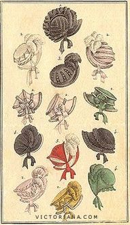 Hats and Bonnets - 1811