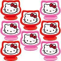 Hello Kitty Cake Toppers 8ct FREE SHIPPING