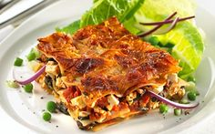 Grøn lasagne med spinat