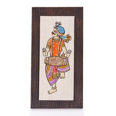 Wooden Wall Hanging - Jute Art Dancing Boy | #WedTree #ReturnGifts #OnlineShopping