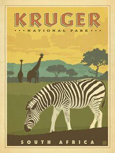 Kruger National Park Print
