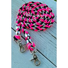 """RESCUE LINE: """"Bella's Love"""" Riding Reins Use code RDRFR for 10% off!"""