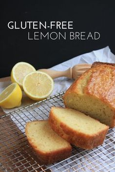 Gluten-Free Lemon Bread & Chance Meetings | Spoon and Saucer