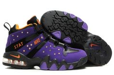 616c814b7b7 Nike Air Max2 CB 94Charles Barkley purple black! Only  71.70USD Nike Heels