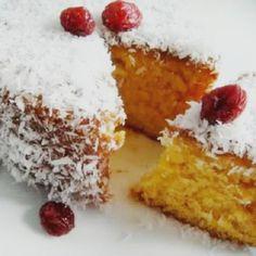 Bizcocho de Flan y Coco (Flan and Coconut Cake)