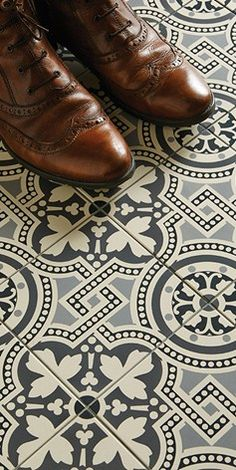 Our new Victorian floor tile products will give you so much more choice for creating wonderful patterns for your garden paths, hallways and dining rooms. We have lots of new shapes and colors to give the floors in your home a fantastic Victorian feel. Victorian Tiles, Victorian Kitchen, Victorian Farmhouse, Victorian Bathroom, Victorian Flooring, Bathroom Floor Tiles, Kitchen Tiles, Kitchen Flooring, Tiled Hallway