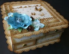Creative Options: Altered Match Box Drawers