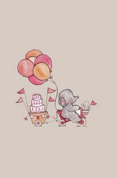 Elephant Tag wallpapers Page Elephant Animals Cute Animal Cartoon Wallpaper, Disney Wallpaper, Wallpaper Backgrounds, Iphone Wallpaper Drawing, Elephant Wallpaper, Animal Wallpaper, Phone Wallpapers Tumblr, Pretty Wallpapers, Vintage Wallpapers