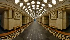 Elektrozavodskaya Metro station in Moscow, Russia Place Rouge, U Bahn Station, Moscow Metro, Sister Cities, Iconic Photos, Metro Station, Largest Countries, Beautiful Architecture, Moscow