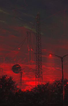 """madcat-world:""""Railway Inferno V - Dae-K""""""""The greatest trick the devil ever pulled, was convincing the world he didn't exist.""""[[MORE]]Because say what you want about a society afraid of the devil to the point of violent paranoia, at least they had. Red Aesthetic Grunge, Aesthetic Colors, Aesthetic Collage, Aesthetic Pictures, Aesthetic Vintage, Aesthetic Green, Aesthetic Backgrounds, Aesthetic Iphone Wallpaper, Aesthetic Wallpapers"""