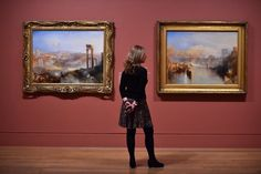 Turner Painting, Tate Britain, Getty Museum, The Masterpiece, Los Angeles California, Ancient Rome, Secret Life, September 2014, Gallery