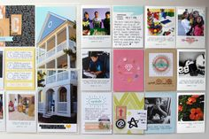 Page created by design team member Nancy Damiano with our September 2014 This Life Noted kit