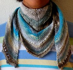 Ravelry: Homage - Shawl or Scarf FREE pattern by elen brandt