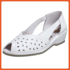 Spring Step Women's Bow Slip-on Flat,White,40 M EU / 9 B(M) - Flats for women (*Amazon Partner-Link)